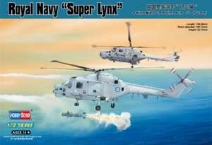 Model helikoptera Royal Navy Super Lynx Hobby Boss 87238