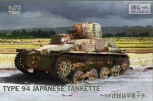 Model japońskiej tankietki Typ 94 IBG 72043