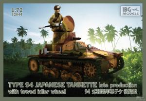Model japońskiej tankietki Typ94 IBG 72044