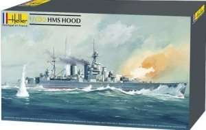 Model krążownika HMS Hood 1:400 Heller 81081
