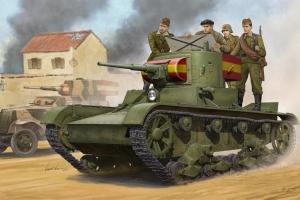 Model lekkiego czołgu piechoty T-26 mod.1935 Hobby Boss 82496