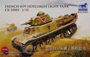 Model lekkiego czołgu H39 Hotchkiss Bronco 35001