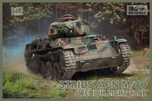 Model lekkiego czołgu Stridvagn M/39 IBG 72034