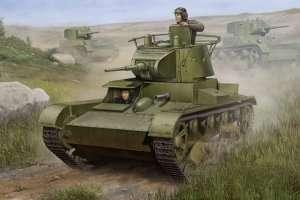 Model lekkiego czołgu T-26 mod.1938 Hobby Boss 82497