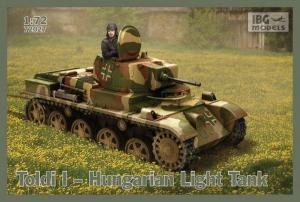 Model lekkiego czołgu Toldi I IBG 72027
