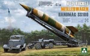 Model mobilnej wyrzutni rakiet V2 Takom 2030