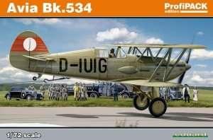 Model myśliwca Avia Bk-534 1:72 Eduard 70105