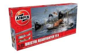 Model myśliwca Bristol Beaufighter Mk.X Airfix 04019