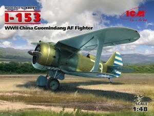 Model myśliwca Czajka I-153 w chińskiej służbie ICM 48099