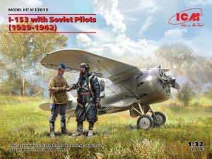 Model myśliwca I-153 z pilotami 1939-1942