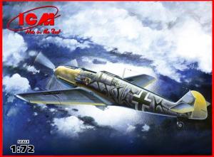 Model myśliwca Messerschmitt Bf109 E-7B ICM 72135