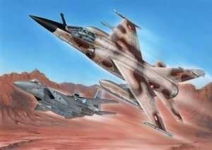 Model myśliwca Mirage F.1CR