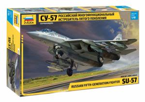 Model myśliwca SU-57 Zvezda 4824