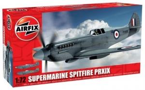 Model myśliwca Spitfire Pr.XIX skala 1:72 Airfix A02017