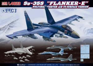 Model myśliwca Su-35S Flanker E GWH L4823