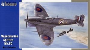 Model myśliwca Supermarine Spitfire Mk.Vc Special Hobby 48051