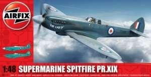Model myśliwca Supermarine Spitfire Pr.XIX Airfix A05119