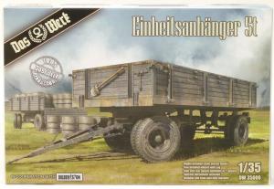 Model naczepy Einheitsanhanger 5t Das Werk DW35006