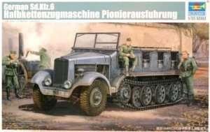 Model niemieckiego Sd.Kfz. 6 Trumpeter 05530