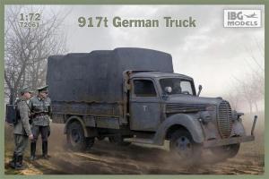 Model niemieckiej ciężarówki 917t IBG 72061