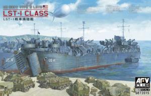 Model okrętu desantowego LST1 AFV Club 73515