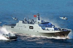 Model okrętu desantowego Typ 071 Trumpeter 06726