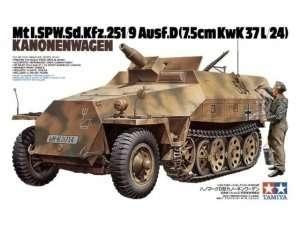 Model transportera SdKfz 251/9 Tamiya 35147