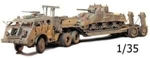 Model transportera czołgów Dragon z naczepą 40ton Tamiya 35230