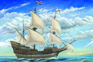 Model żaglowca Mayflower w skali 1:60 Trumpeter 01201