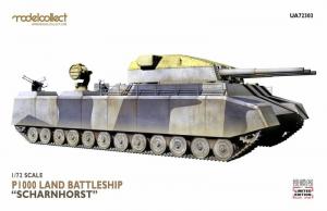 Modelcollect 72303 P1000 Land Battleship Scharnhorst model 1-72