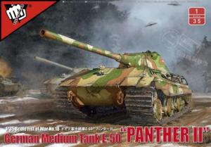 Modelcollect UA35001 E-50 Ausf.B Panther III z 10.5cm KwK model 1-35