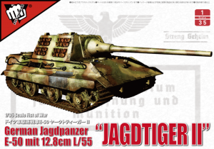Modelcollect UA35005 Jagdpanzer E-50 Jagdtiger II z 12.8cm L/55 model 1-35