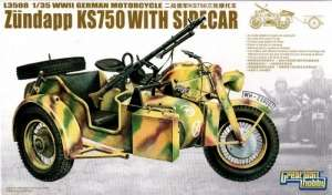 Motocykl Zundapp KS750 - Model Great Wall Hobby L3508