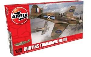 Myśliwiec Curtis Tomahawk Mk.IIB Airfix 01003