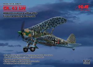 Myśliwiec Fiat CR.42 w skali 1/32 ICM 32021