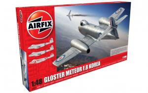 Myśliwiec Gloster Meteor F.8 Korea model Airfix 09184