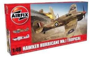 Myśliwiec Hawker Hurricane Mk. I Tropical Airfix 05129