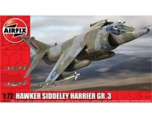 Myśliwiec Hawker Siddeley Harrier GR3 Airifix 04055