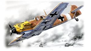 Myśliwiec Messerschmitt Bf109e-7 Trop model ICM 72133