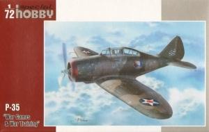 Myśliwiec P-35 model Special Hobby 72262