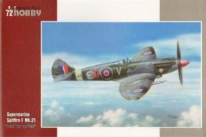 Myśliwiec Spitfire F Mk.21 Post WWII Service Special Hobby 72249