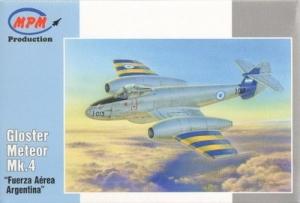 Myśliwiec odrzutowy MPM 72554 Gloster Meteor MK4