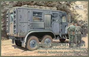 Niemiecka Einheits-Lastkraftwagen Kfz.61 IBG 35004