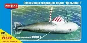 Niemiecka miniaturowa łódź podwodna Delphin-I 1:35 Mikromir 35005