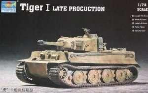 Niemiecki czołg Tiger I late prod. Trumpeter 07244