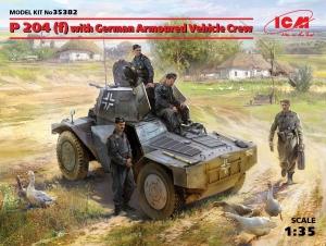 Niemiecki wóz pancerny P204 z załogą ICM 35382