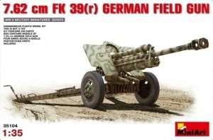 Niemieckie działo polowe 76,2mm MiniArt 35104