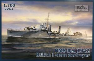 Niszczyciel HMS Ilex 1942 model 70011