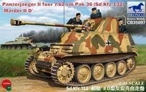 Niszczyciel czołgów Panzerjaeger II fuer 7.62 cm PaK 36 (Sd.Kfz. 132) Marder II D