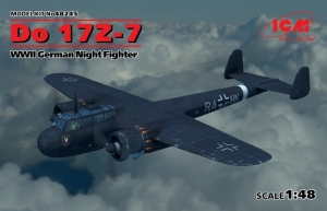 Nocny myśliwiec Do 17Z-7 model ICM 48245 skala 1-48